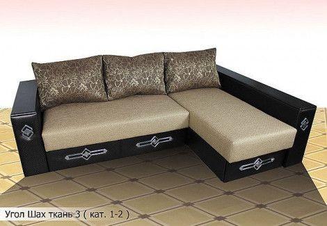 Угловой диван «Шах» (Диван плюс)