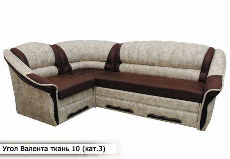 Угловой диван «Валента» (Диван плюс)