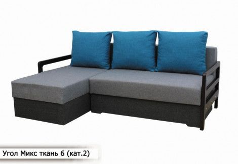 Угловой диван «Микс» (Диван плюс)