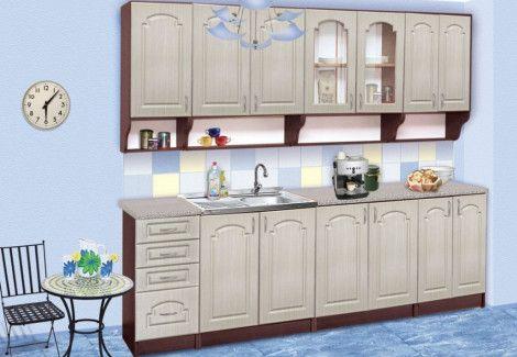 Кухня «Елена» 2.6 м. (Пехотин)