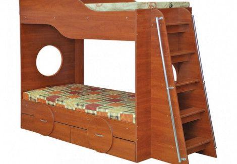 Двухъярусная кровать «Тандем» (Пехотин)