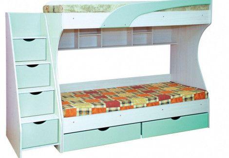 Двухъярусная кровать «Кадет» (Пехотин)