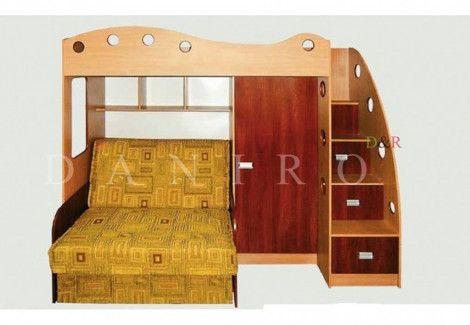 Кровать двухъярусная «Каспер 2» (Даниро)