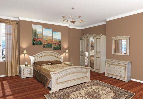 Спальня Николь патина Світ Меблів
