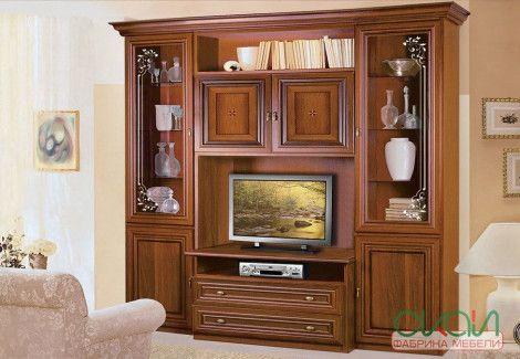 Гостиная Капри витрина ТВ Скай