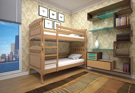 Двухъярусная кровать «Трансформер 5» (Тис)