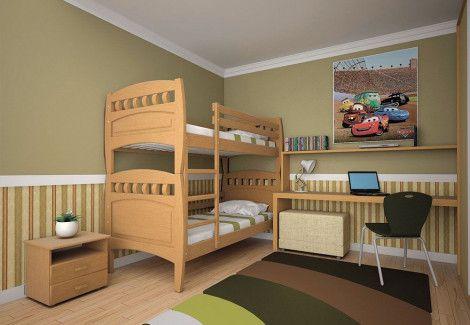 Двухъярусная кровать «Трансформер 8» (Тис)