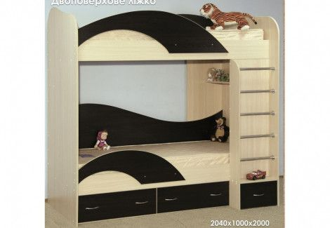 Двухъярусная кровать(Континент)