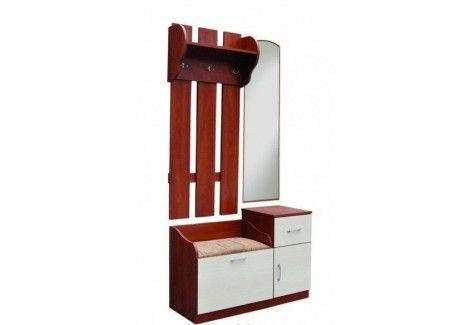 Прихожая «ТС-02+ВО-02+Зеркало» (РТВ мебель)