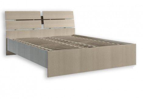 Кровать 1.4 «Клеопатра+ламель» (Феникс)