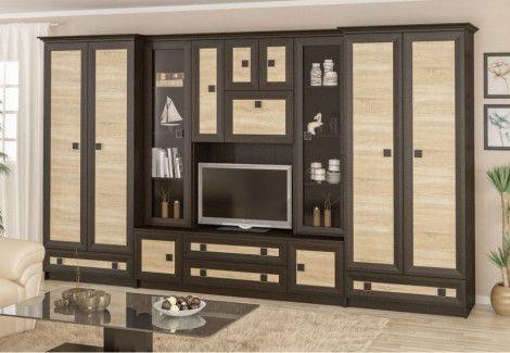Гостиная «Тристан» (Мебель сервис)