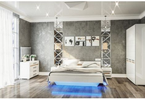 Спальня Бьянко Світ Меблів