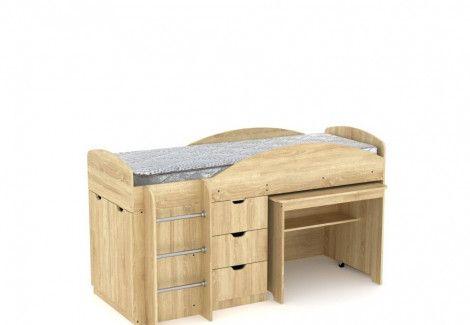 Двухъярусная кровать Универсал Компанит