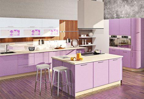 Кухня Хай тек (матовая галактика) Комфорт мебель
