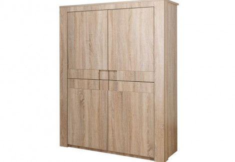 Шкаф четырехдверный  СР1215 Комфорт