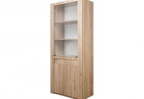 Шкаф со стеклом С185.3 Комфорт