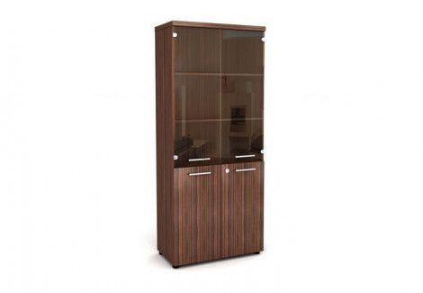 Шкаф со стеклом КШС190