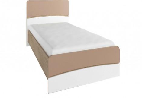 Кровать 0.9м Капучино Феникс