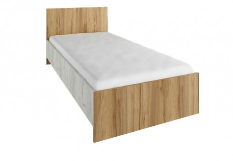 Кровать 0.9м Крафт Феникс