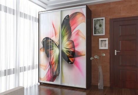 Двухдверный шкаф-купе Феникс Стандарт 1400х600х2400