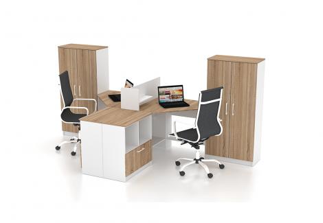 Комплект офисной мебели Simpl 1 Флеш-Ника