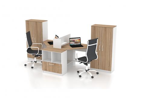 Комплект офисной мебели Simpl 2 Флеш-Ника