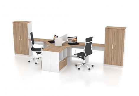 Комплект офисной мебели Simpl 4 Флеш-Ника