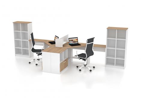 Комплект офисной мебели Simpl 5 Флеш-Ника