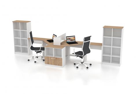 Комплект офисной мебели Simpl 7 Флеш-Ника