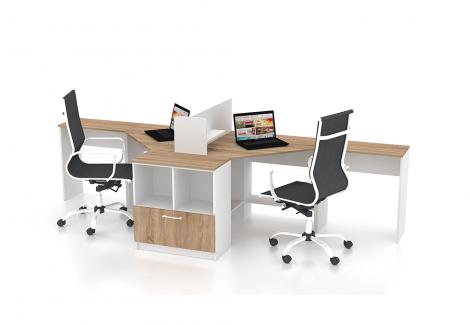 Комплект офисной мебели Simpl 8 Флеш-Ника