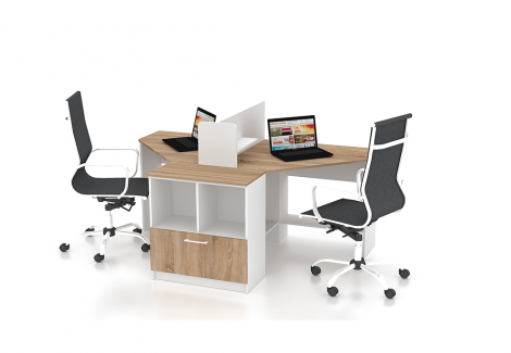 Комплект офисной мебели Simpl 9 Флеш-Ника