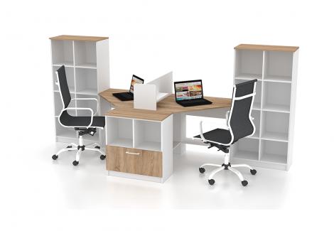 Комплект офисной мебели Simpl 10 Флеш-Ника