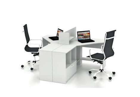 Комплект офисной мебели Simpl 11 Флеш-Ника