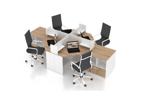 Комплект офисной мебели Simpl 15 Флеш-Ника