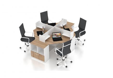 Комплект офисной мебели Simpl 16 Флеш-Ника