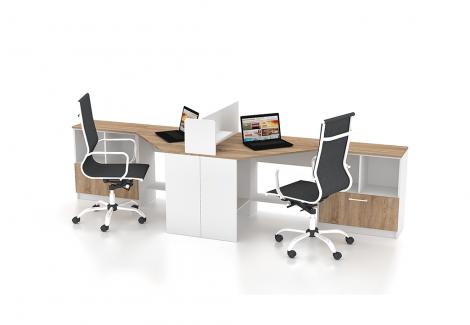 Комплект офисной мебели Simpl 19 Флеш-Ника