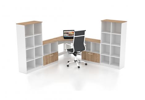 Комплект офисной мебели Simpl 25 Флеш-Ника