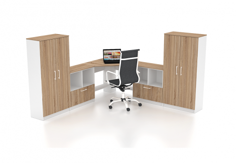 Комплект офисной мебели Simpl 26 Флеш-Ника