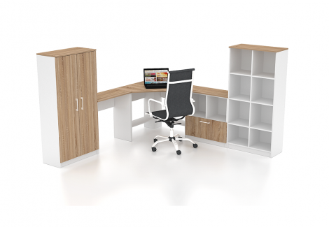 Комплект офисной мебели Simpl 27 Флеш-Ника