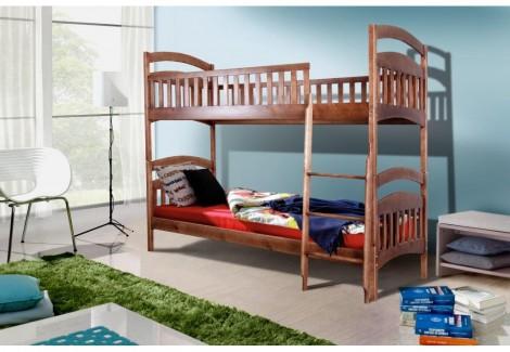 Кровать Кира двухъярусная Уют Микс Мебель
