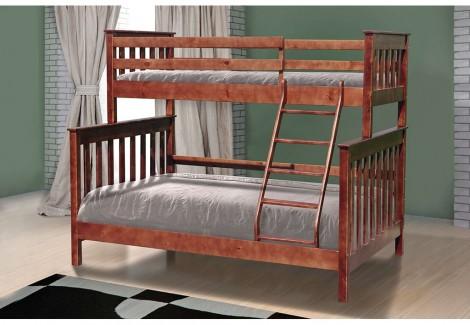 Кровать Скандинавия двухъярусная Уют Микс Мебель