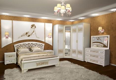 Спальня Полина Нова угловая Світ Меблів