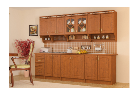 Комплект кухни Корона 2.6 Мебель-Сервис