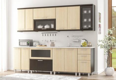 Комплект кухни Тера Плюс 2.6 Мебель-Сервис