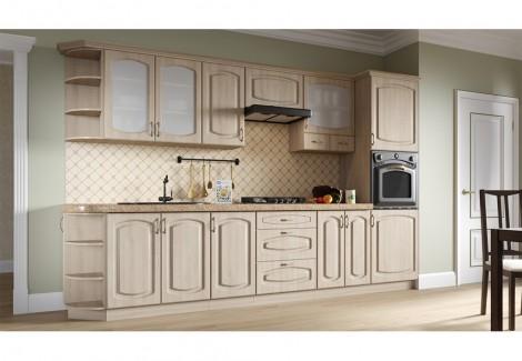 Комплект кухни Паула 2.6 Мебель-Сервис