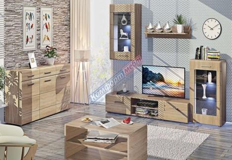 Стенка МС-4306 Лас Вегас Комфорт Мебель