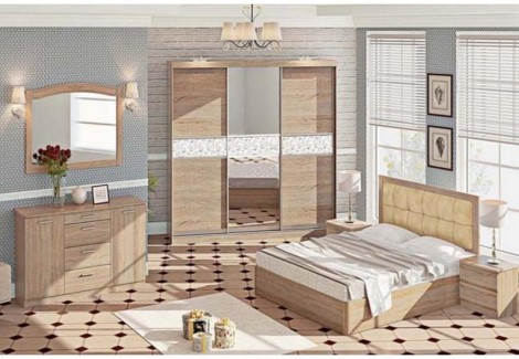 Спальня СП-4509 Софт Комфорт Мебель