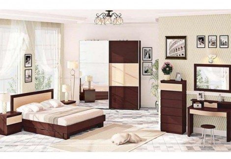 Спальня СП-4517 Европейская Комфорт Мебель