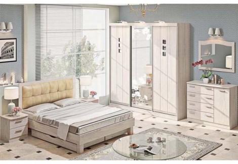 Спальня СП-4529 Хай-тек Комфорт Мебель