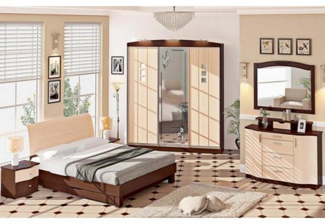 Спальня СП-4533 Хай-тек Комфорт Мебель